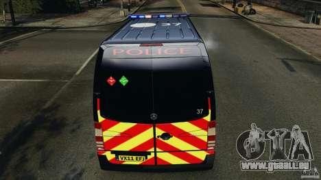 Mercedes-Benz Sprinter Police [ELS] für GTA 4 Räder