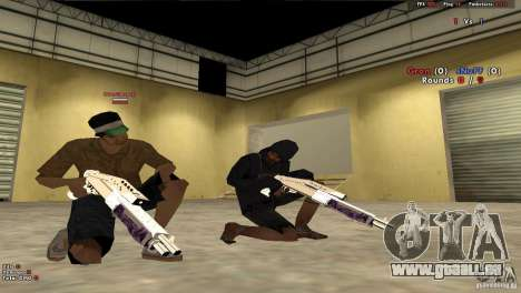 New Chrome Guns v1.0 für GTA San Andreas sechsten Screenshot
