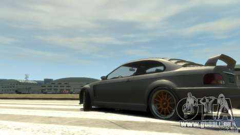 Sentinel Grand Sport pour GTA 4 est une gauche
