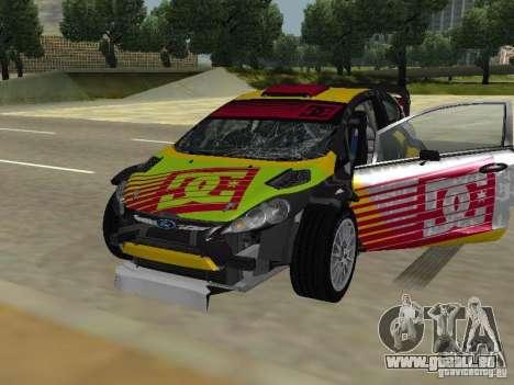 Ford Fiesta H.F.H.V. Ken Block Gymkhana 5 pour GTA San Andreas vue de côté