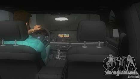BMW X5 pour GTA Vice City vue arrière