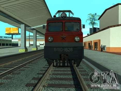 RZD Vl10-1628 pour GTA San Andreas sur la vue arrière gauche