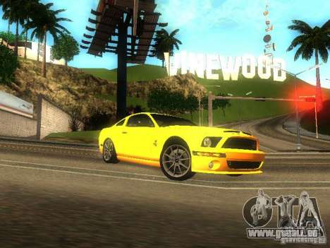 Ford Shelby GT 2008 pour GTA San Andreas