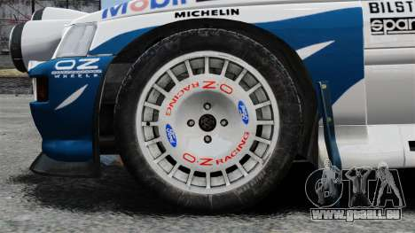 Ford Escort RS Cosworth für GTA 4 Rückansicht