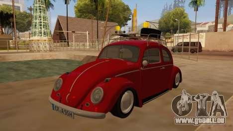 VW Beetle 1966 pour GTA San Andreas