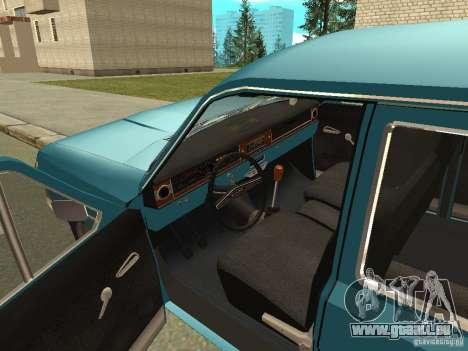 GAZ Volga 24-12 für GTA San Andreas Rückansicht
