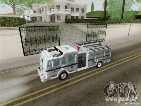Pierce Pumpers. B.C.F.D. FIRE-EMS pour GTA San Andreas moteur