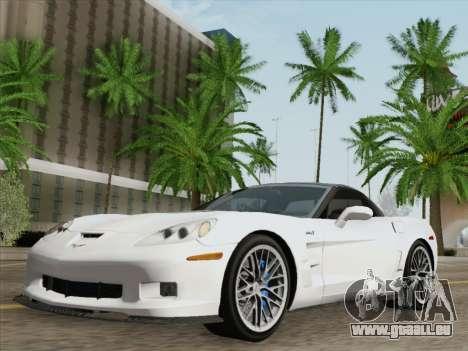 Chevrolet Corvette ZR1 pour GTA San Andreas