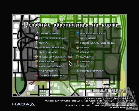 Nouveau HUD pour GTA San Andreas quatrième écran