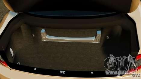 Maserati GT MC Stradale pour GTA 4 vue de dessus