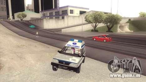 FSO Polonez Cargo MR94 Ambulance für GTA San Andreas