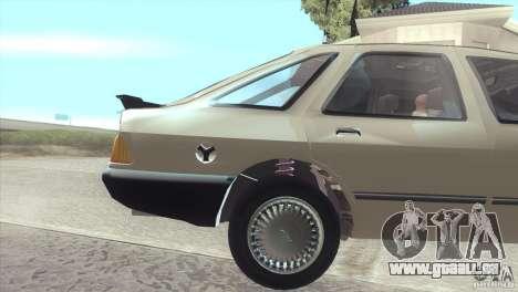 Ford Sierra pour GTA San Andreas vue de droite