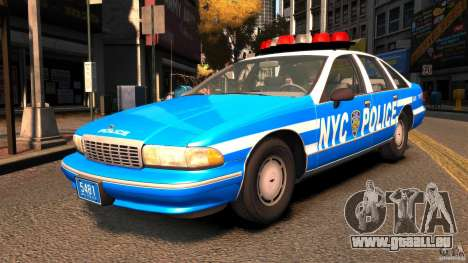 Chevrolet Caprice 1993 NYPD pour GTA 4