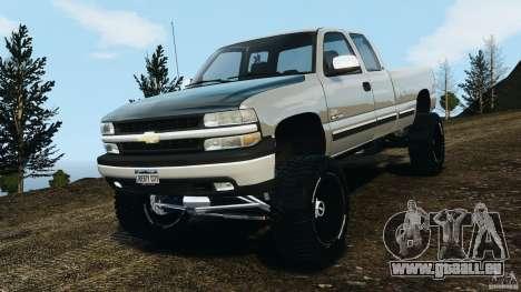 Chevrolet Silverado 2500 Lifted Edition 2000 pour GTA 4