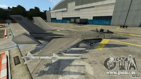 Fighterjet für GTA 4 linke Ansicht