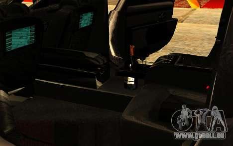 Maybach 62 für GTA San Andreas Innen