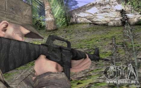 M16A1 Vietnam war pour GTA San Andreas quatrième écran