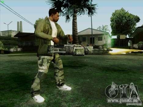 Minigun aus Duke Nukem Forever für GTA San Andreas her Screenshot