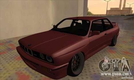 BMW M3 E30 1990 pour GTA San Andreas