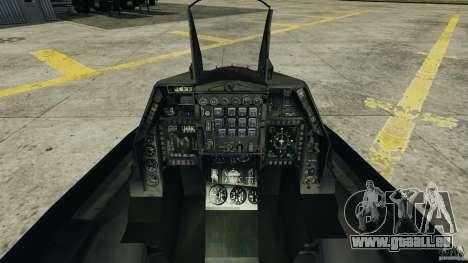 Fighterjet für GTA 4 rechte Ansicht