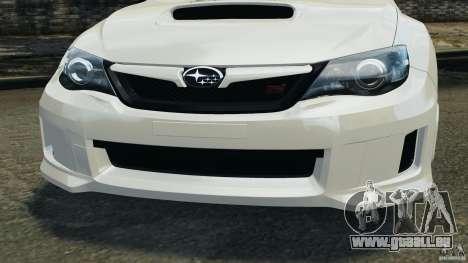 Subaru Impreza WRX STi 2011 G4S Estonia pour GTA 4 roues