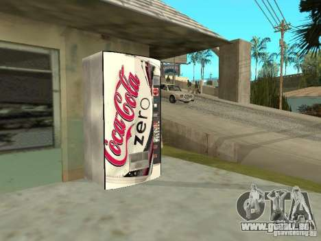 Nouvelles machines pour GTA San Andreas cinquième écran