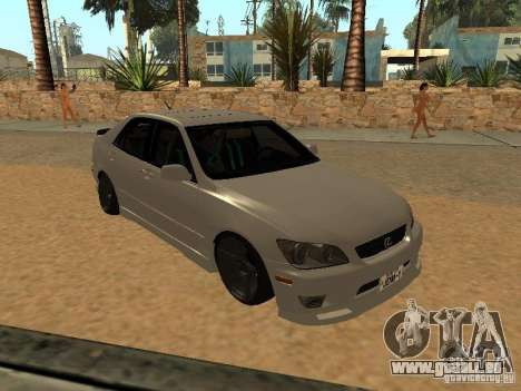Lexus IS300 JDM für GTA San Andreas
