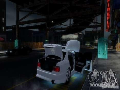 Toyota Chaser 100 TourerV pour GTA 4 Salon