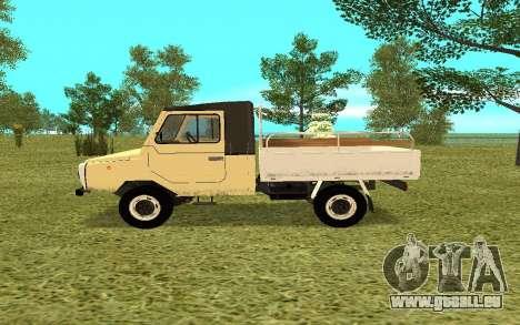 LuAZ 13021 für GTA San Andreas linke Ansicht