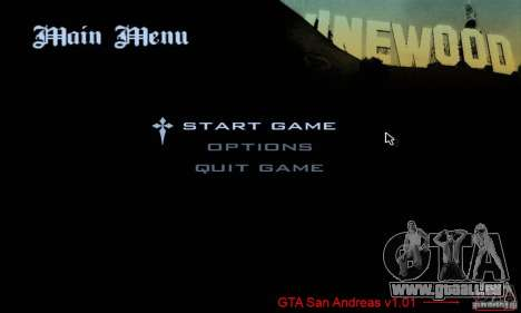 Patch pour GTA San Andres Steam V 3.00 pour GTA San Andreas deuxième écran