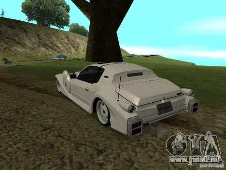 Mitsuoka Le-Seyde pour GTA San Andreas sur la vue arrière gauche