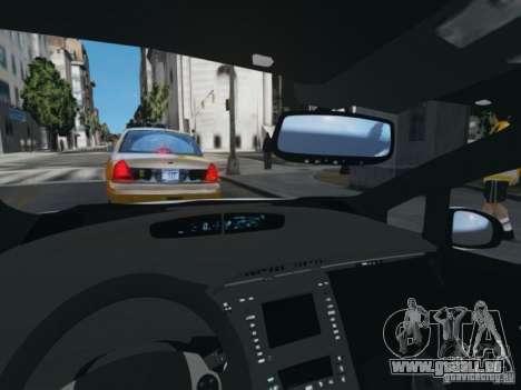 Toyota Prius EKO TAXI (Hrvatski taxi) für GTA 4 Rückansicht