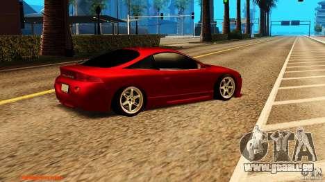 Mitsubishi Eclipse 1998 pour GTA San Andreas vue de droite