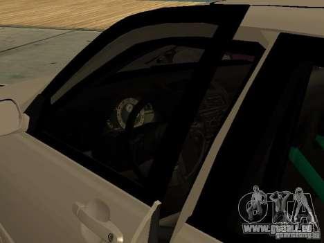 Lexus IS300 JDM pour GTA San Andreas vue de droite