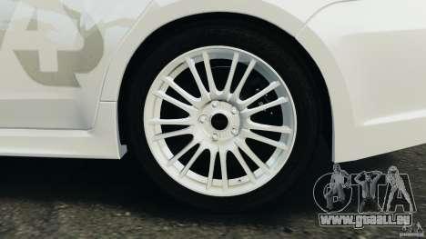 Subaru Impreza WRX STi 2011 G4S Estonia pour le moteur de GTA 4