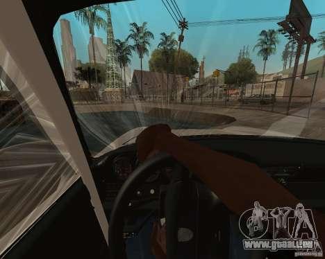 Porsche 911 Turbo 1995 pour GTA San Andreas sur la vue arrière gauche