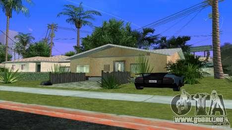 Nouvelles textures House à Los Santos Denis pour GTA San Andreas
