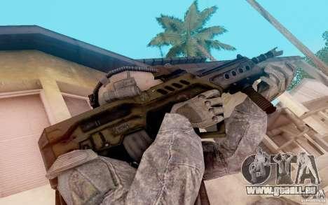 Tavor allgemeine-21 von warface für GTA San Andreas