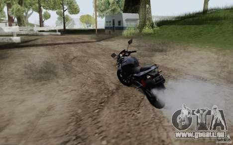Bajaj Pulsar 180 DTSI ENgeine pour GTA San Andreas sur la vue arrière gauche