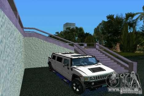 Hummer H2 SUT Limousine pour GTA Vice City