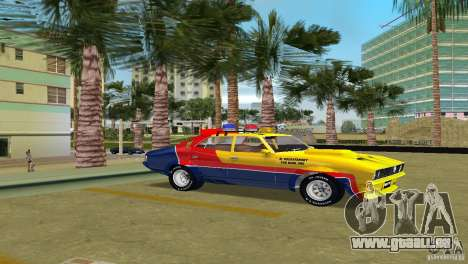 Ford Falcon 351 GT Interceptor für GTA Vice City zurück linke Ansicht