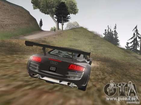 Audi R8 LMS v3.0 für GTA San Andreas Rückansicht