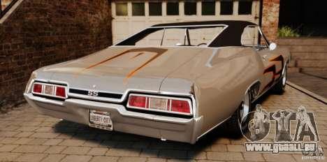 Chevrolet Impala 427 SS 1967 für GTA 4 hinten links Ansicht
