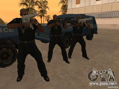 M4A1 from Left 4 Dead 2 pour GTA San Andreas sixième écran