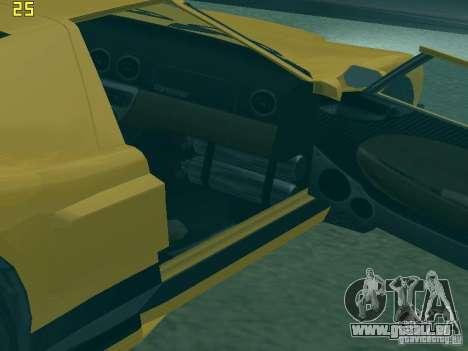 La balle de la GTA TBoGT FIV pour GTA San Andreas vue arrière