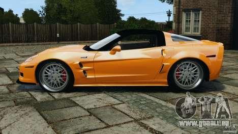 Chevrolet Corvette ZR1 pour GTA 4 Vue arrière