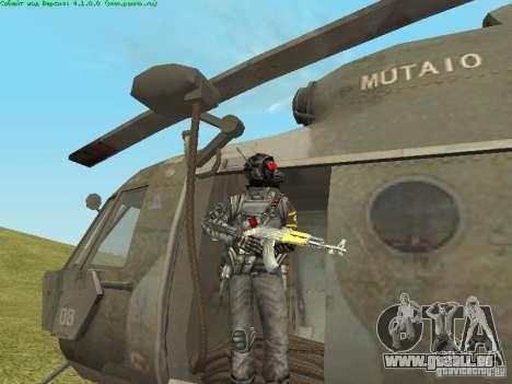 MI-8 MTV pour GTA San Andreas vue de côté