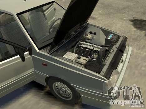 FSO Polonez Atu pour GTA 4 est une vue de dessous