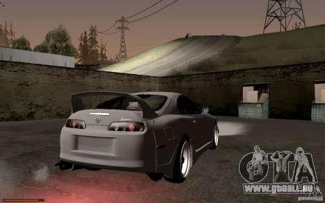Toyota Supra D1 1998 pour GTA San Andreas vue arrière