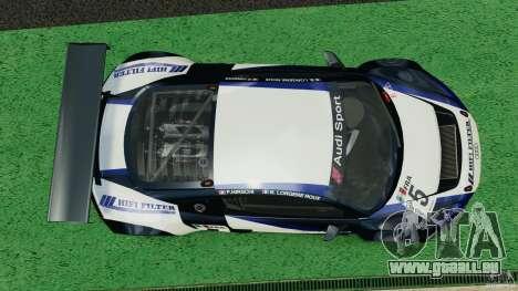 Audi R8 LMS für GTA 4 rechte Ansicht